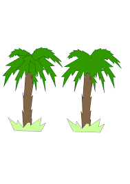 palm tree svg two palm trees clip art at clker com vector clip art online