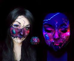 doctor who black light makeup by katiealves on deviantart