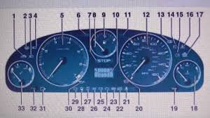 peugeot car symbol peugeot 406 dashboard warning lights what they mean youtube
