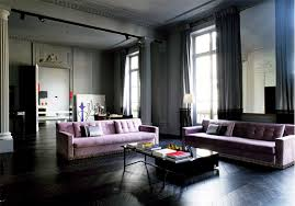 a contemporary living room inspiration with a monochromatic color