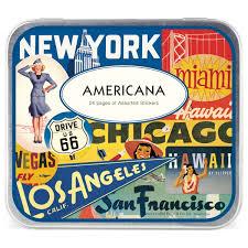 travel stickers images Americana sticker set souvenir travel stickers jpg