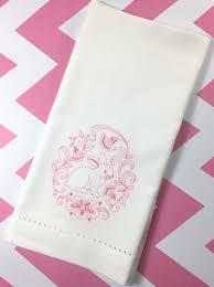easter napkins easter bunny cloth napkins set of 4 easter napkins cloth