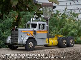 custom kenworth trucks all american toy company custom built for hank suderman custom