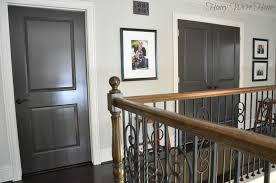 painted dark grey doors honey we u0027re home