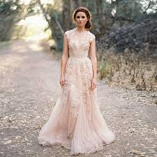 dusty wedding dress aliexpress buy 2016 dusty pink boho wedding dresses new hot