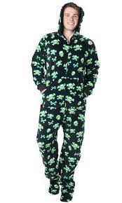 footed pajamas dinosaur fleece with flap mens footed