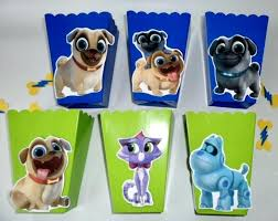 puppy party supplies puppy birthday party supplies girl dog pals favors bags popcorn