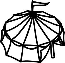 tent outline cliparts free download clip art free clip art