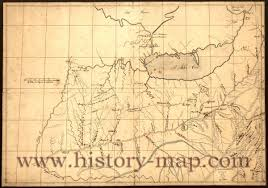 ohio river valley map trader s map of the ohio river valley