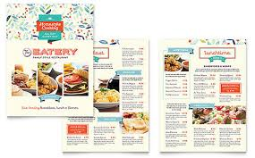 food u0026 beverage brochures u0026 flyers word u0026 publisher templates