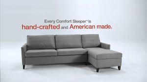 american leather comfort sleeper youtube