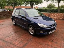 peugeot 206 sw 1 4 hdi verve estate manual in earls barton