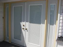 french door window blinds window treatments design ideas