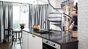 Black And White Home Interior Design U2014 Small Black U0026 White Fashion Inspired Open