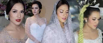 wedding dress raisa 95 indonesia setuju raisa tak perlu makeup yang manglingi di