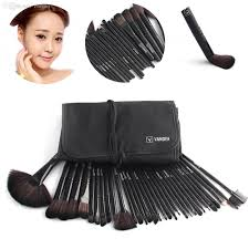 wholesale black vander makeup brushes set foundation face u0026amp eye