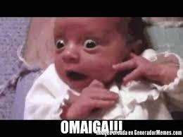 Omaiga Meme - omaiga meme de bebe asustado imagenes memes generadormemes