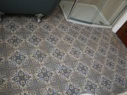 art deco flooring an early art nouveau floor in a bathroom in england the antique