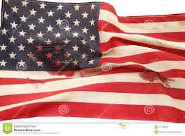 Old Flag Usa American Flag With Bloodstains Stock Photo Image 31195822