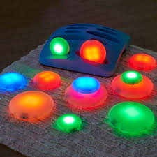 glow in the pebbles buy illuminated sensory glow pebbles 12pcs tts international