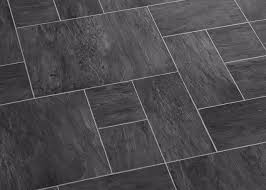 Black And White Laminate Flooring Laminate Flooring Night Slate Black