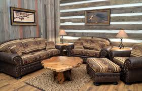 Western Couches Living Room Furniture Southwestern Style Sofas Western Living Room Design Cowhide