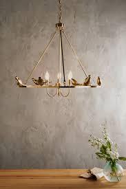 Anthropologie Lighting Golden Perch Chandelier Chandeliers Lights And Kitchen Dining