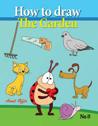 how to draw the garden drawing book for kids and adults that will