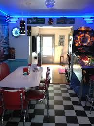 retro kitchen ideas diner booth chairs tables home diner for