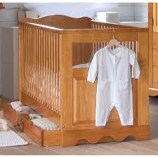 chambre bébé pin massif lit bébé 60 x 120 cm sans tiroir mathis miel anniversaire 40 ans