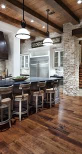 Kitchens Designs Ideas by 43 Kitchen Design Ideas With Stone Walls Decoholic