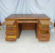 Office Desks Oak Antique Oak Paneled Executive Office Desk Office Desks Desks