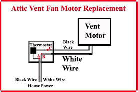 attic fan thermostat wiring diagram wiring diagram and schematic