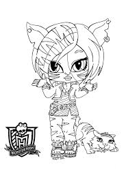 monster high dolls coloring pages best monster high free