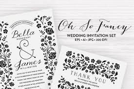 Black And White Wedding Invitations 90 Gorgeous Wedding Invitation Templates Design Shack