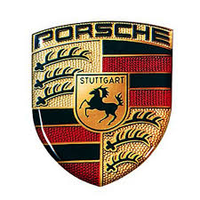 stuttgart car logo porsche crest 3d logo sticker amazon co uk car u0026 motorbike