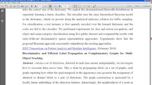 pattern classification projects ieee pattern analysis and machine intelligence final year ieee