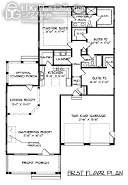 1728 sq ft 3 bed 2 bath elizabeth floor plans pinterest