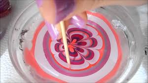 Very Easy Water Marble Nail Art Step By Step Tutorial YouTube - Easy design for nails to do at home
