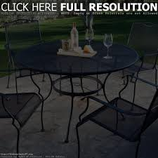 Patio Furniture Wrought Iron Dining Sets - wrought iron patio set patio decoration
