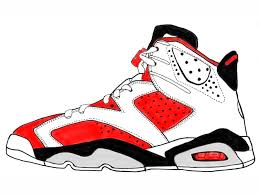drawing of jordan shoes coloring pages jordan shoes and coloring