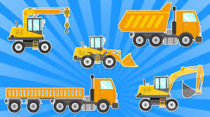 trucks for children dump truck crane and excavator construction