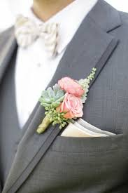 Gold Boutonniere Gray Peach And Gold Wedding Pink Boutonniere Boutonnieres And