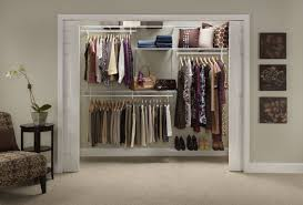 Rubbermaid Complete Closet Organizer Closetmaid Shelftrack 60