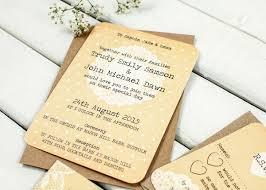 rustic lace wedding invitation bundle norma u0026dorothy