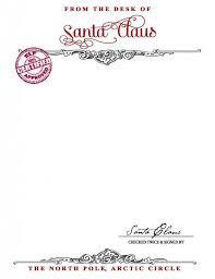 printable santa letters to santa free printable santa letterhead templates letter template