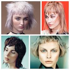 hairstyles short on top long on bottom short layers and choppy bangs transform chin length looks from
