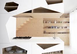 decorating ideas white scandinavian kitchen open shelving design