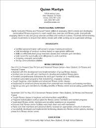 Personal Training Resume Sample by Fitness And Personal Trainer Resume Example Athletic Trainer