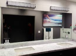 bathroom wall mirrors cut to size best 25 mirrored subway tiles